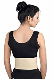 Wonder Care-Umbilical Hernia Support Belt - Belly Button Hernia Navel Truss Brace with foam pressure pad - S(28-31)