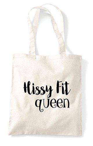 Shopper Statement Fit Bag Natural Tote Hissy Queen q1wAvn