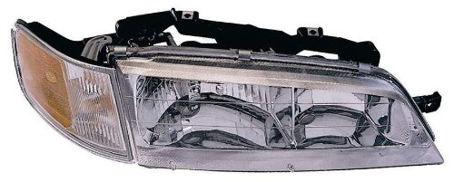 (Depo 317-1106R-CSA Honda Accord Passenger Side Replacement Headlight Assembly with Corner)