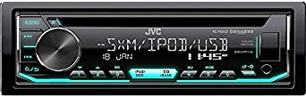 JVC KD-R690S CD Receiver Featuring Front USB AUX Input Pandora SiriusXM Ready Variable Illumination