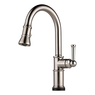 Brizo 64025LF-SS - Artesso: Single Handle Pull-Down Kitchen Faucet With Smarttouch(R) Technology