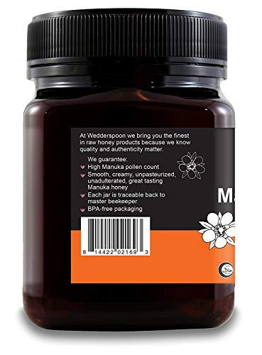 Wedderspoon Raw Premium Manuka Honey KFactor 16, Unpasteurized, Genuine New Zealand Honey, Multi-Functional, Non-GMO Superfood, 35.2 oz, 2 Pack by Wedderspoon (Image #1)