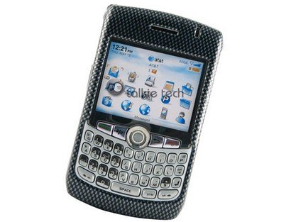 Hard Plastic Phone Design Cover Case Carbon Fiber For BlackBerry Curve 8300 (8300 Carbon Fiber)