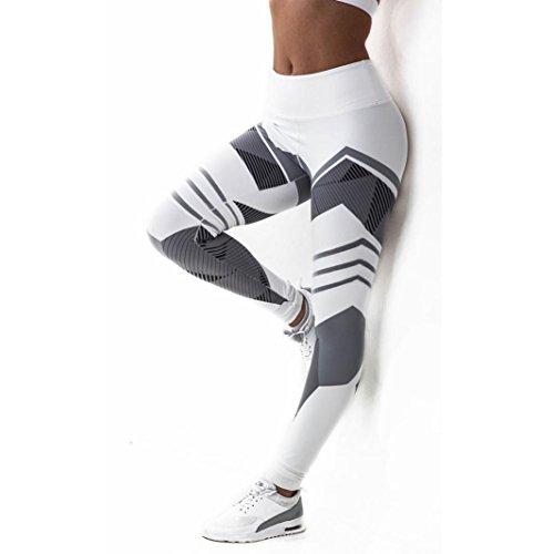 PHOTNO Fitness Leggings Women Mid Waist Sports Leggings Yoga Running Gym Stretch Athletic Trousers