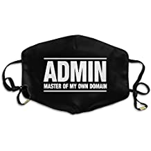 OMEGAGAA Admin Master Of My Own Domain Unisex Warm Anti-fog Mouth Mask