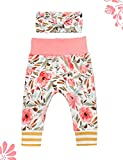 Newborn Baby Girl Clothes Ruffle Romper+Floral