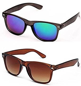 eee994080b8 Sheomy Wayfarer Unisex Sunglasses Combo (BLUE MERCURY WAYFARER SUNGLASS