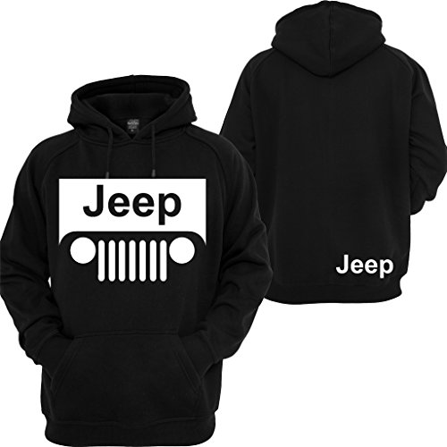 Jeep Hoodie Motocross Wrangler Cherokee Cars Jeep Beer Pullover Sweatshirt (Mens Sweatshirt Hoodie Cross)
