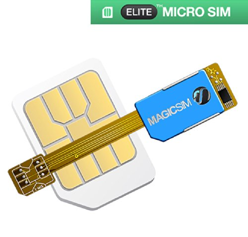 Magic-Sim Elite – Adaptador de Tarjeta Micro SIM Dual sim
