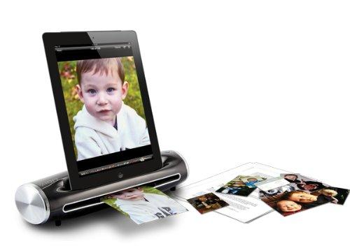 ION Audio Docs2Go - Escáner de negativos y diapositivas (300 x 300 DPI, 6 PPM), negro ISC38