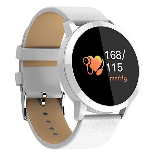 Lightclub Q8 Fitness Tracker Heart Rate Blood Pressure Monitor Smart Bracelet Waistband – White
