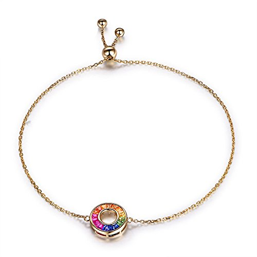 Ruby Sapphire Tsavorite Cuff Bracelet Bangle 14k Yellow Gold Natural Genuine Gemstone Birthstone Rainbow