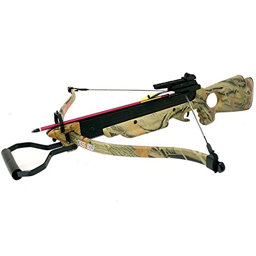 Hunting Crossbows 150 lbs Camouflage Hunting Archery Recurve Crossbow with 2 Arrow Deer Hunting Crossbow Bolts