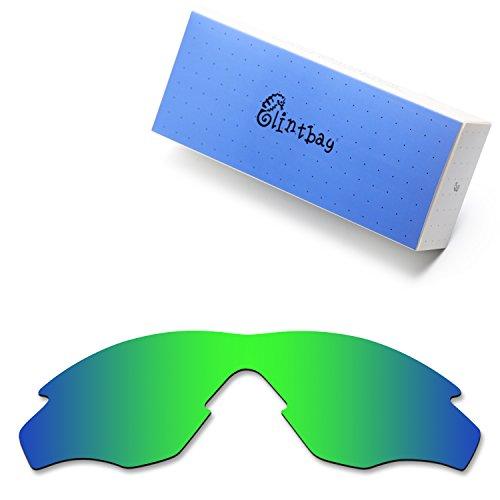 0a85cbd8eb919 Glintbay 100% Precise-Fit Replacement Sunglass Lenses for Oakley M2 Frame -  Polarized Green Mirror