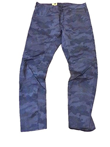 G-STAR HERREN JEANS A CROTCH TAPERED CAMO COMPACT KING BT W36L34