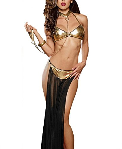 Bella Bridal Women's Sexy Lingerie India and Arab Belly Dance Uniforms Suspenders Strappy Gypsy Skirt (Sexy Gypsy Costumes)