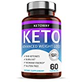Keto Pills - Healthy Weight Loss Support - for Women & Men - Curbs & Suppresses Appetite - Carb Blocker - 60 Capsules