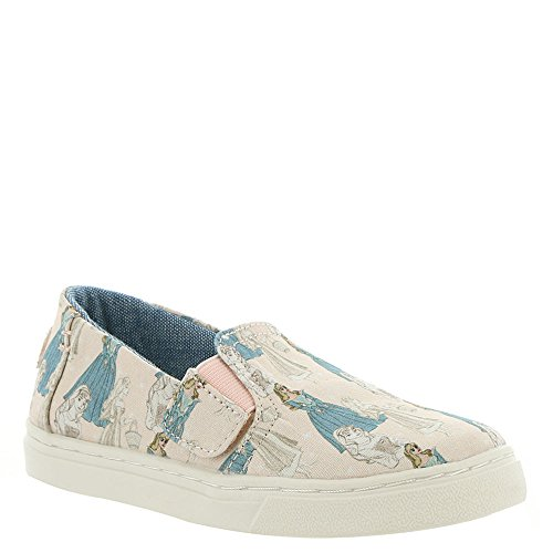 TOMS Kids Baby Girl's Luca Disney¿ Princesses (Infant/Toddler/Little Kid) Pink Sleeping Beauty Printed Canvas 6 M US Toddler M