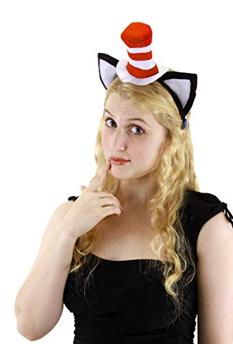 Elope Cat in the Hat, Hat Headband with -