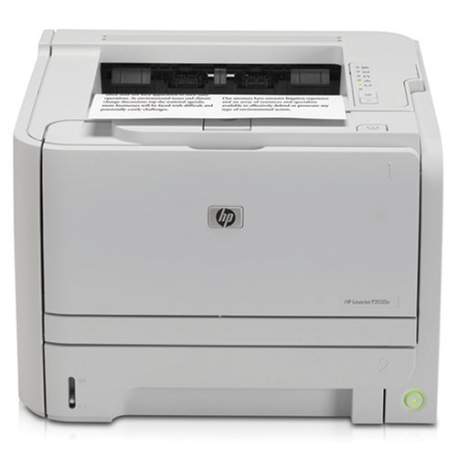 Basics Hp Laserjet - HP LaserJet P2035N CE462A Laser Printer - (Renewed)