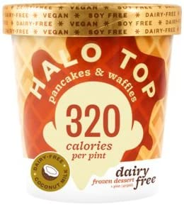 Halo Top Dairy Free Pancakes Waffles Pint 8 Count Amazon Grocery Gourmet Food