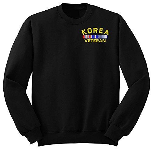 KOREA Veteran Military Crew Neck Sweatshirt Medium