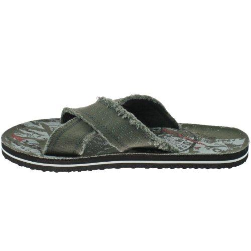Dunlop  Dunlop, Sandales pour homme Gris gris - Gris - gris, 40.5