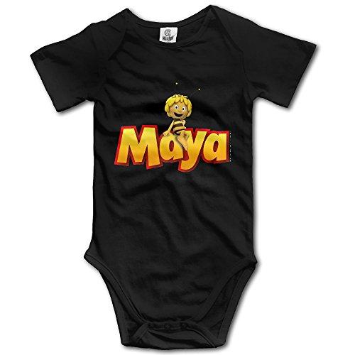 Price comparison product image Maya The Bee Unisex Boys Girls Baby Bodysuit Onesies 100% Cotton 12 Months