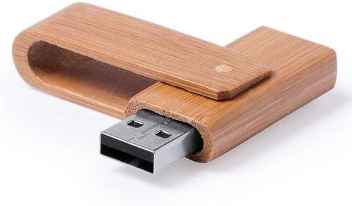 Lote de 10 Memorias Pendrive USB Madera 8 GB: Amazon.es: Electrónica