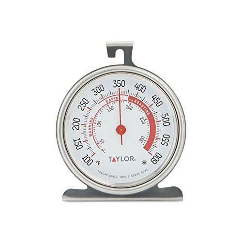Termómetro de horno de dial grande de la serie Taylor Classic