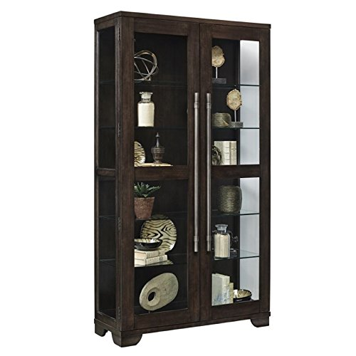 Pulaski P021585 Collection Zadie Two Door Curio Display Cabinet, 44