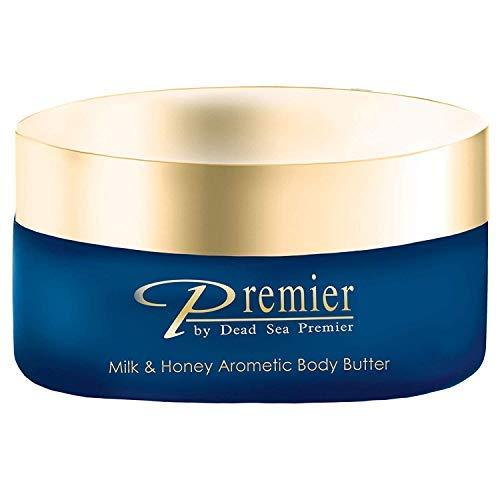 - Premier Dead Sea Aromatic Body Butter- Milk and Honey, 175ml