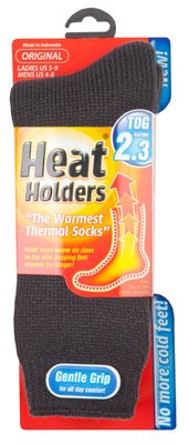 Heathold Ladies Sock Gry by GRABBER WARMERS (Image #1)