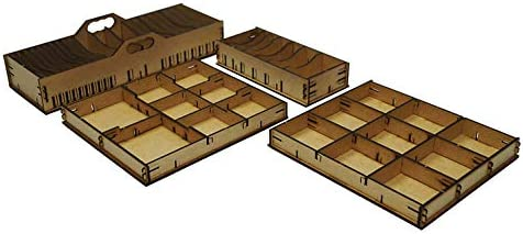 docsmagic.de Organizer Insert for Arkham Horror 3rd Edition Box ...