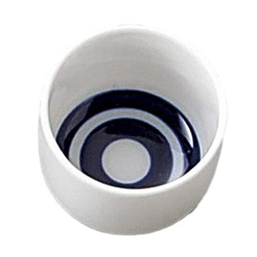 Japanese sake cup ceramic Janome-choko,set of 4