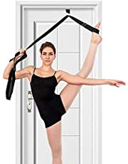 tchrules Leg Stretcher, Door Flexibility & Stretching Leg Strap - Great for Ballet Cheer Dance Gymnastics or Any Sport Leg Stretcher Door Flexibility Trainer Premium Stretching Equipment