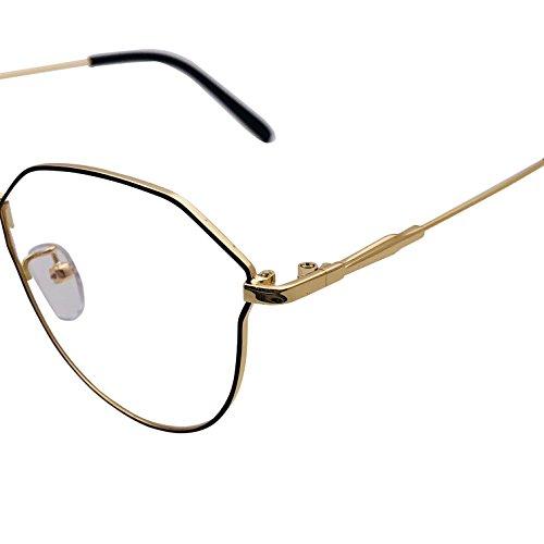 gold sol XYAS Gafas para de mujer Black SnqF14