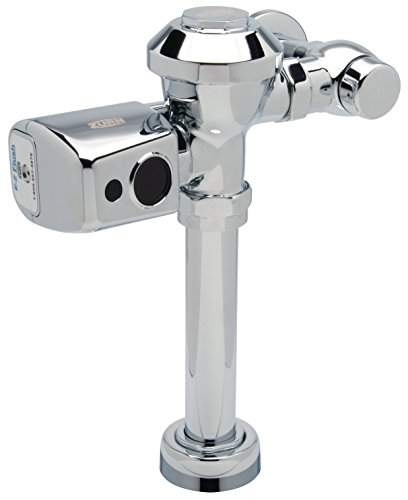 Zurn ZER6000PL-HET-CPM 1.28 gpf Battery Powered Automatic Sensor Flush Valve For Water Closets