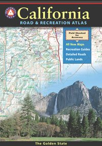 Benchmark Maps California Road & Recreation Atlas by Benchmark Maps