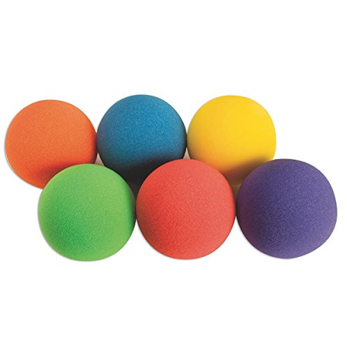 Spectrum Light Foam Ball Set, 6