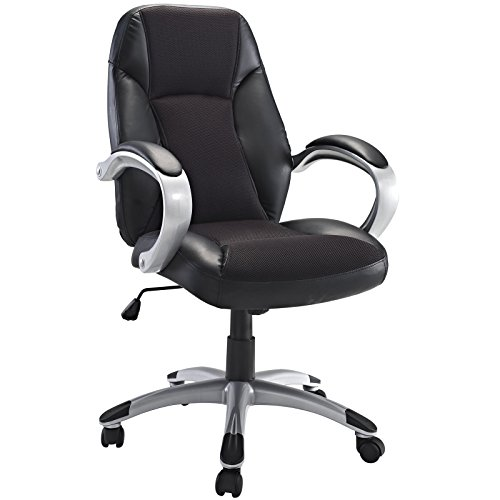 Modway Resonate High Back Ergonomic Task Office Chair in Black by Modway