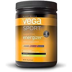 Vega Sport Pre-Workout Sugar-Free Energizer, Lemon Lime, 4.8 oz, 40 Servings