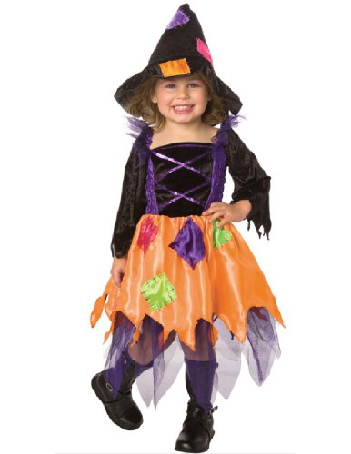 [Costumes For All Occasions Lf1063T Patchwork Witch Toddler 2-4T] (Patchwork Witch)