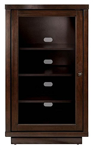 Bell'O ATC402 Audio Video Component Cabinet, Dark Espresso (Wood Component)