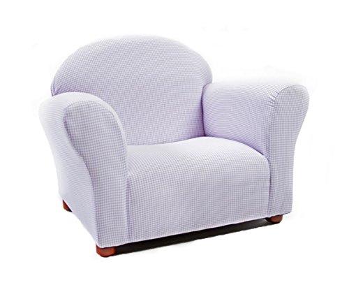 KEET Roundy Kid's Chair Gingham, (Gingham Chair)