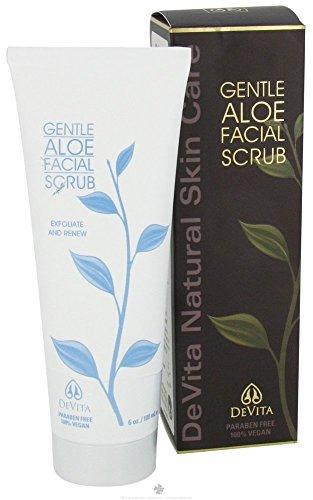 DeVita Gentle Aloe Facial Scrub, 7 (Scrub Aloe)