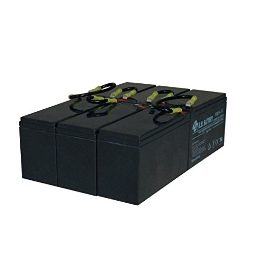 Tripp Lite RBC96-3U Replacement Battery Cartridge for Select Tripp Lite & Other Major UPS ()