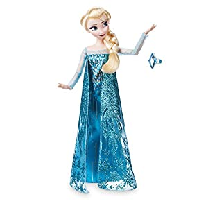 Disney Elsa Classic Doll with Ring – Frozen – 11 ½ Inches
