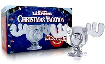 National Lampoon's Christmas Vacation Moose Mug - Set of 2 - Ships ...