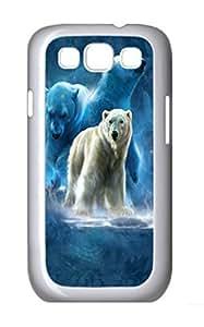 Samsung Galaxy S3 I9300 Samsung Galaxy S3 I9300 Cases Polar Collage Polar Bear Polycarbonate Hard Case Back Cover for Samsung Galaxy S3 I9300 White